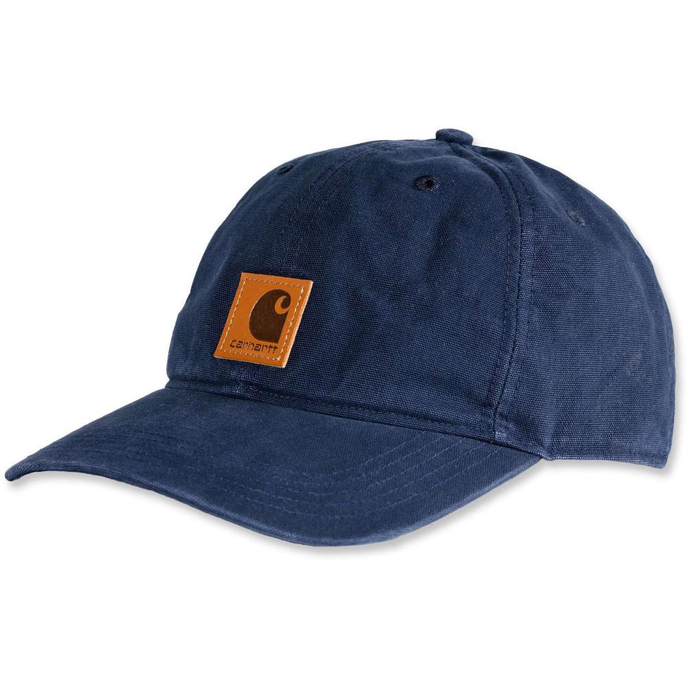 Carhartt Mens Odessa Adjustable Fast-Dry Leather Label Baseball Cap DvkBTHT