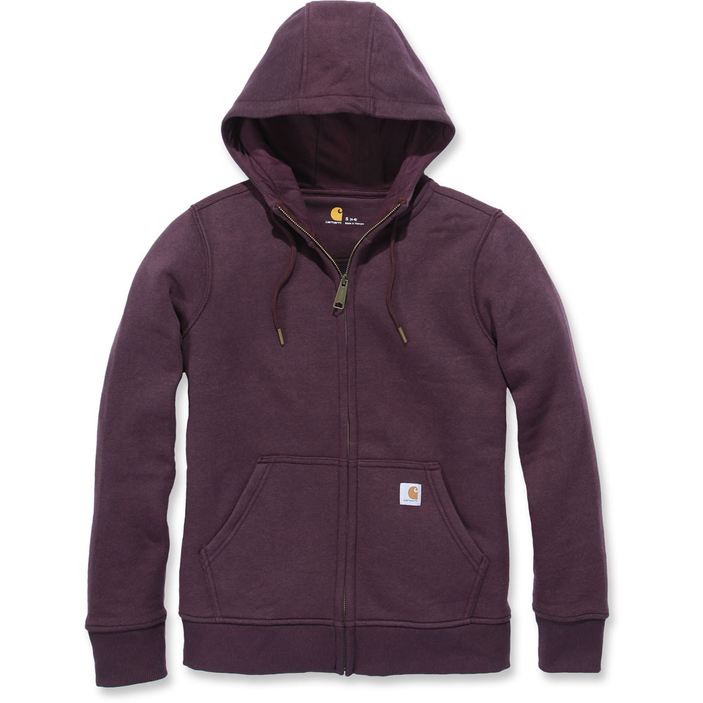 Carhartt damen 102788 Clarksburg Polycotton Full Zip Zip Zip Hoodie | Billig ideal