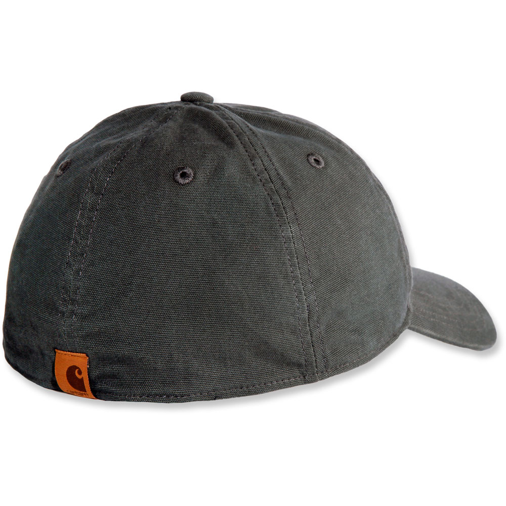 Carhartt-Mens-Rigby-Stretch-Fit-Leather-Patch-Baseball-Cap thumbnail 9
