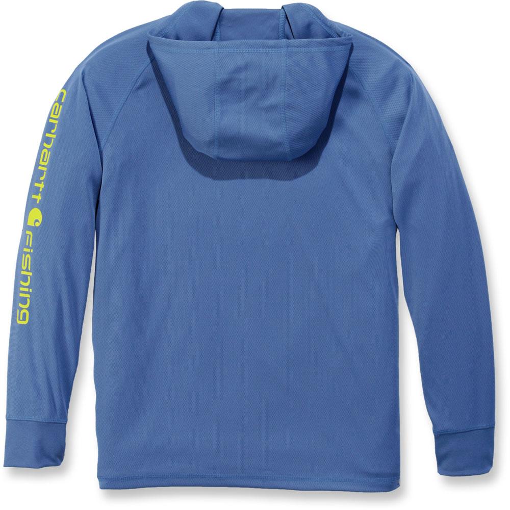Carhartt-Mens-Fishing-Hooded-Fast-Drying-Long-Sleeve-T-Shirt thumbnail 8