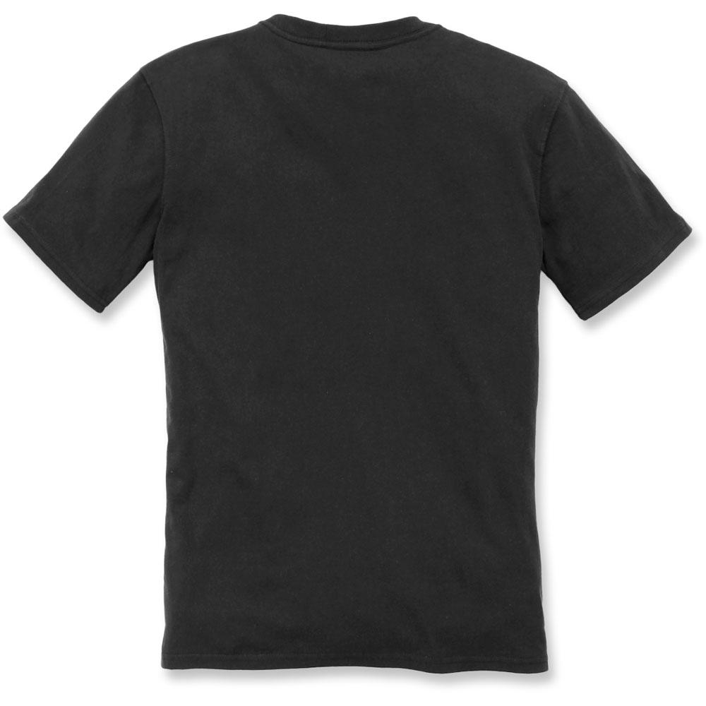 Carhartt Womens Workwear Logo Graphic Short Sleeve T Shirt