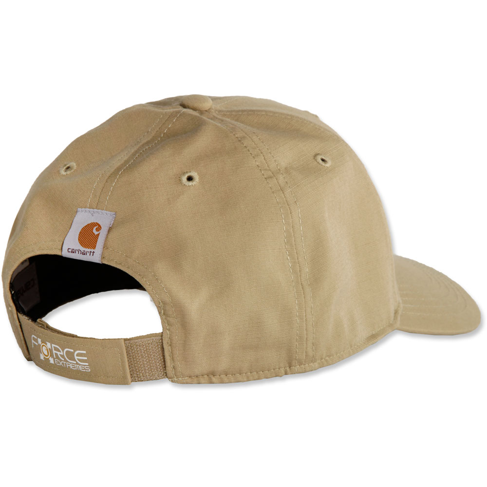 6111e3b437021 Carhartt Mens Force Extremes Fish Hook Logo Baseball Cap