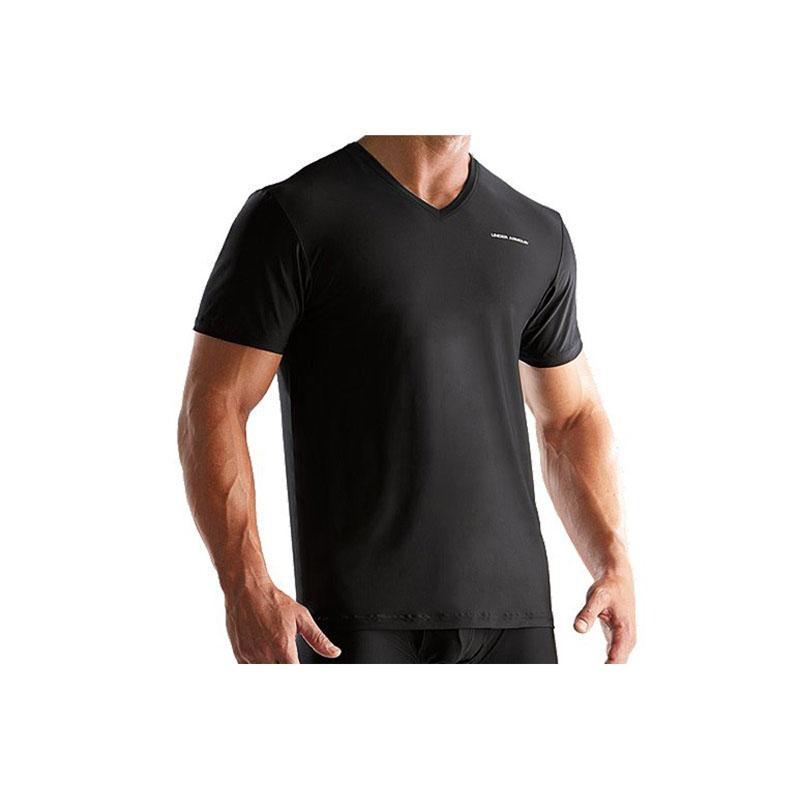 Under armour mens o series v neck undershirt ebay for Mens under armour under shirt