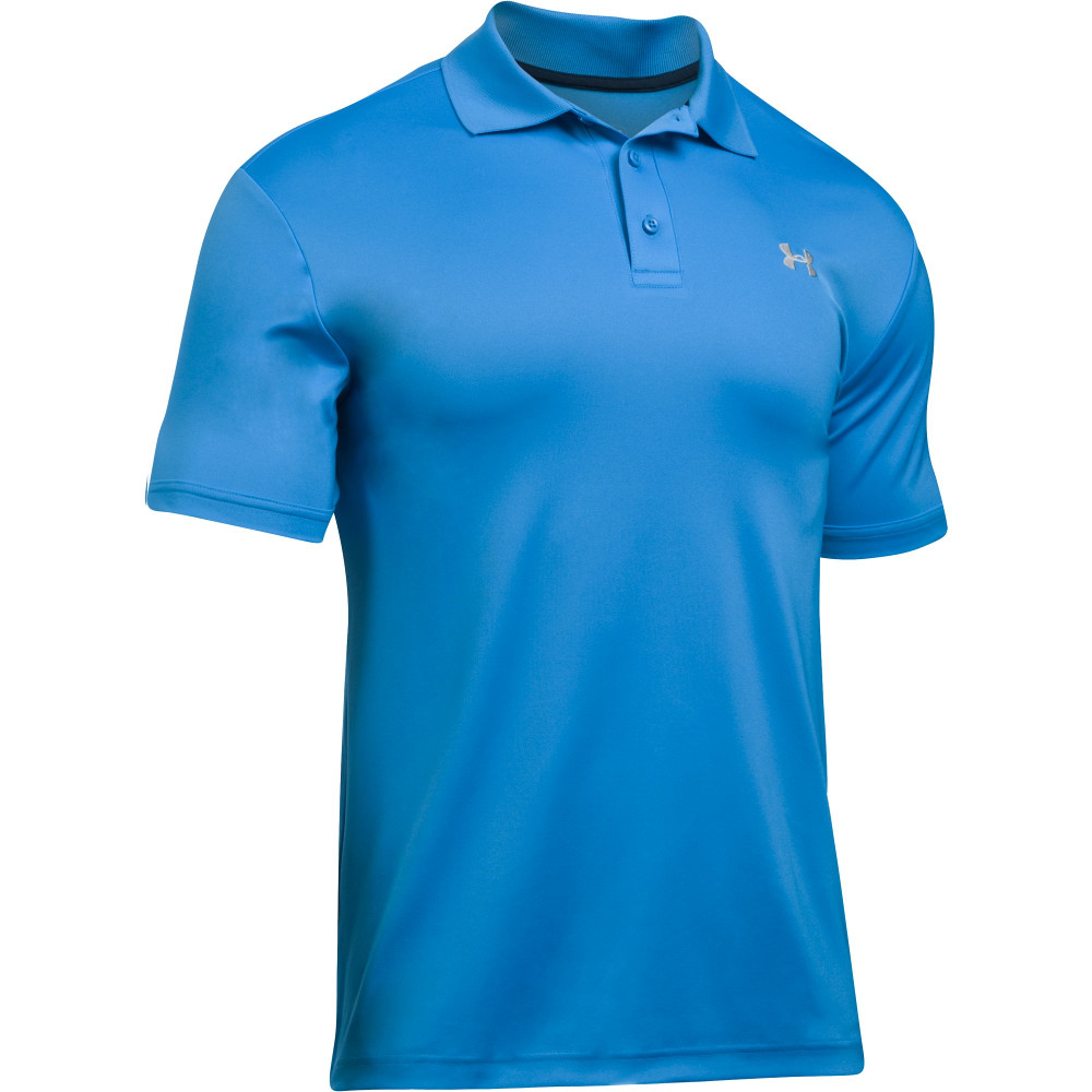 Under armour mens loose wicking sunproof performance polo for Bulk under armour shirts