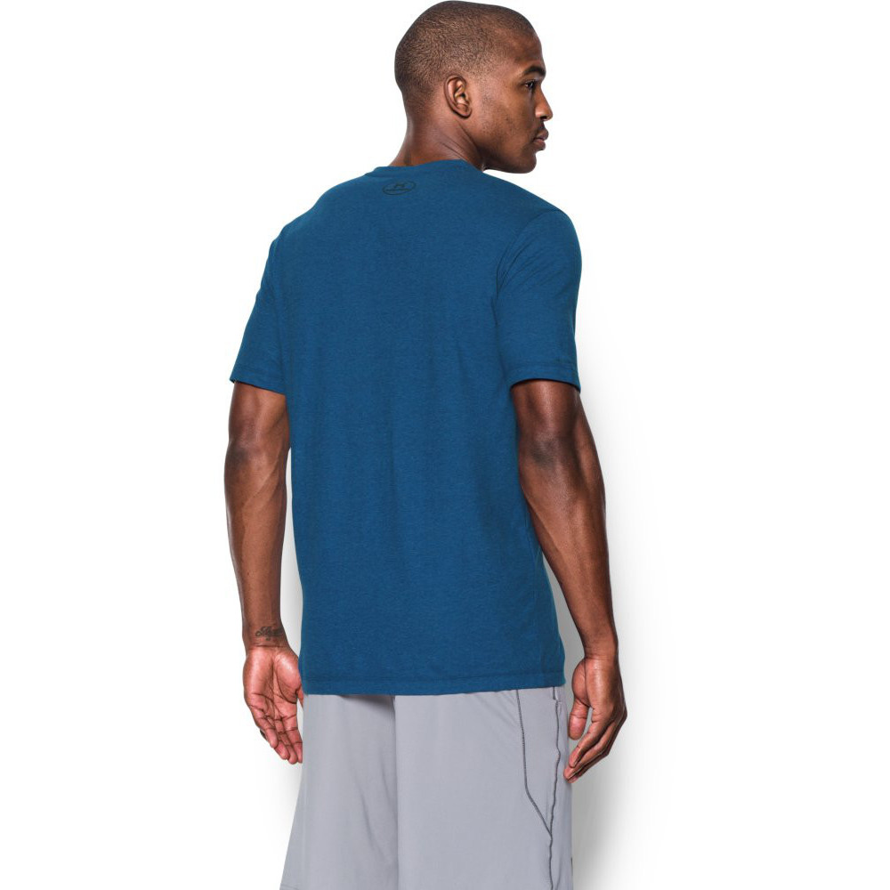 Under armour mens charged cotton v neck moisture wicking t for Under armour charged cotton shirts mens