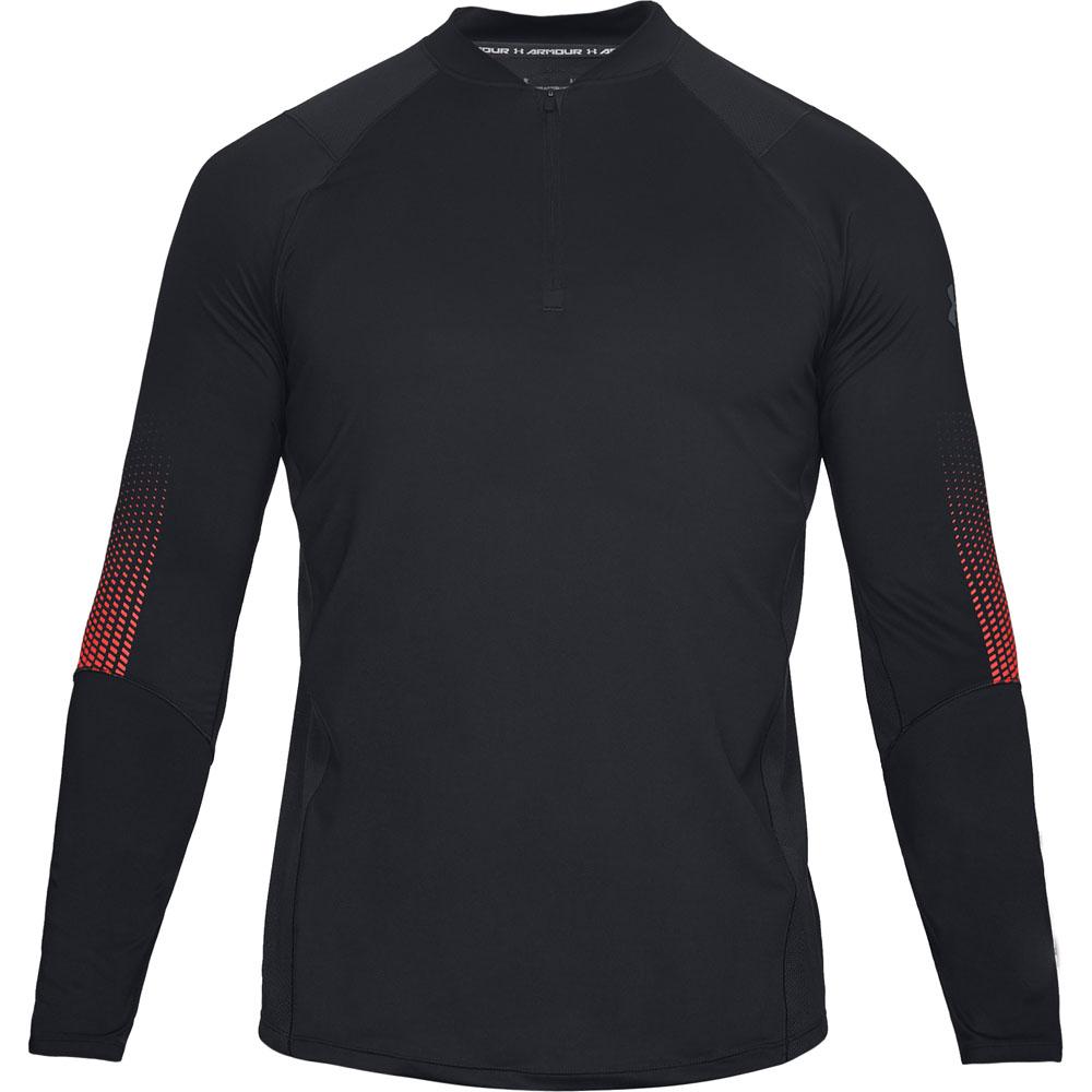 Under Armour Mens Mk1 1//4 Zip Graphic HeatGear Long Sleeve Running Top