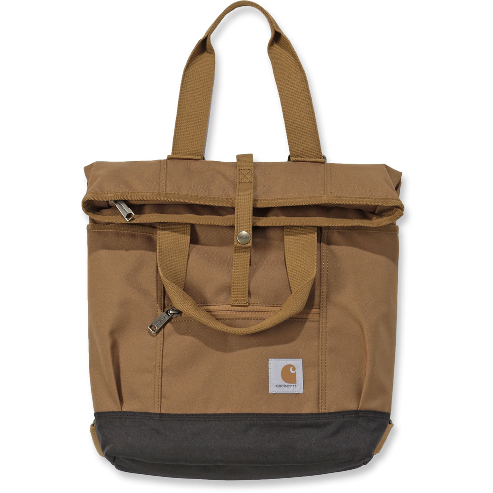 Carhartt-Womens-Water-Repellent-Hybrid-Tote-Backpack-Bag thumbnail 8