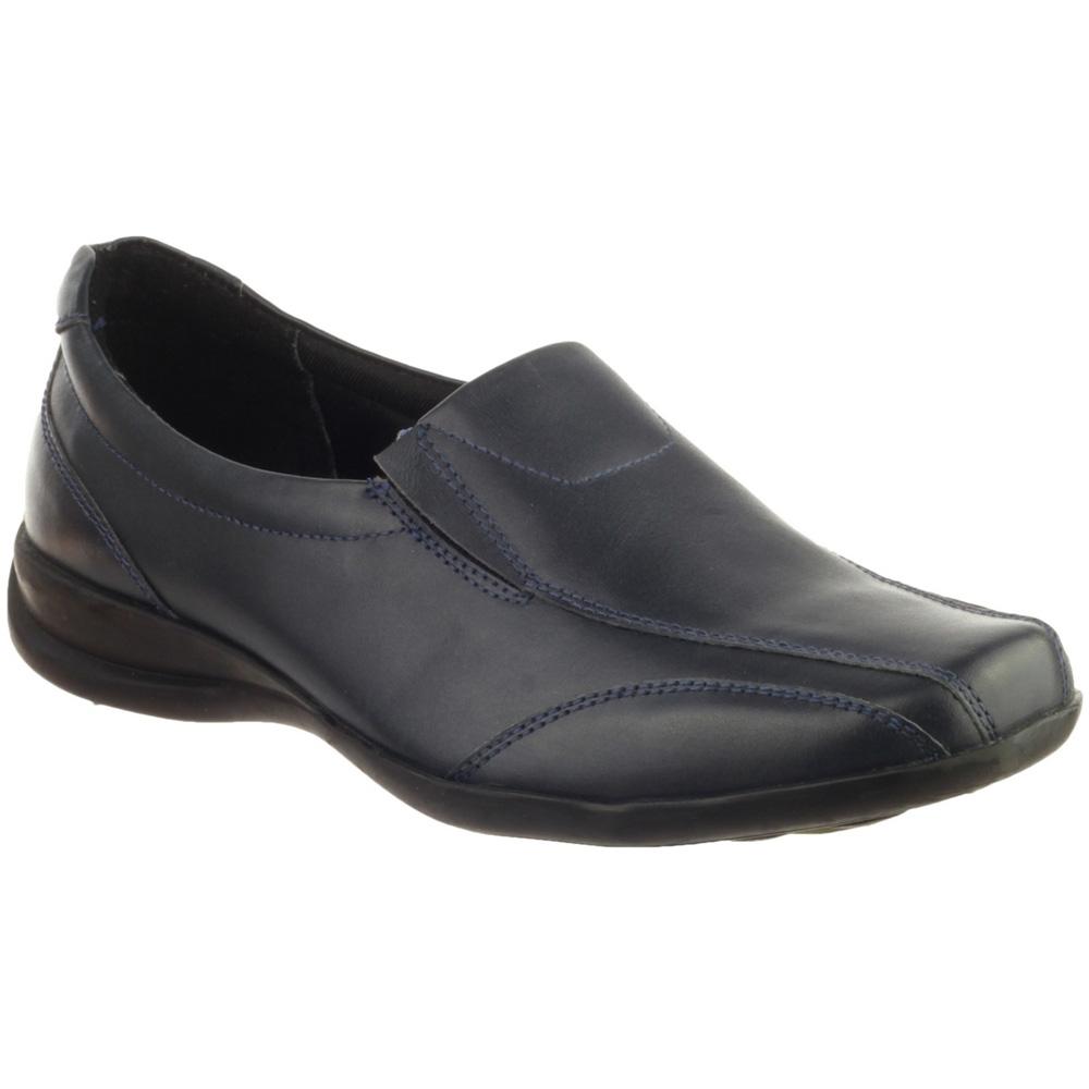 Amblers Ladies Ladies Slip-On Twin Gusset Leather Slip On Shoe Black VyKtfDitWg