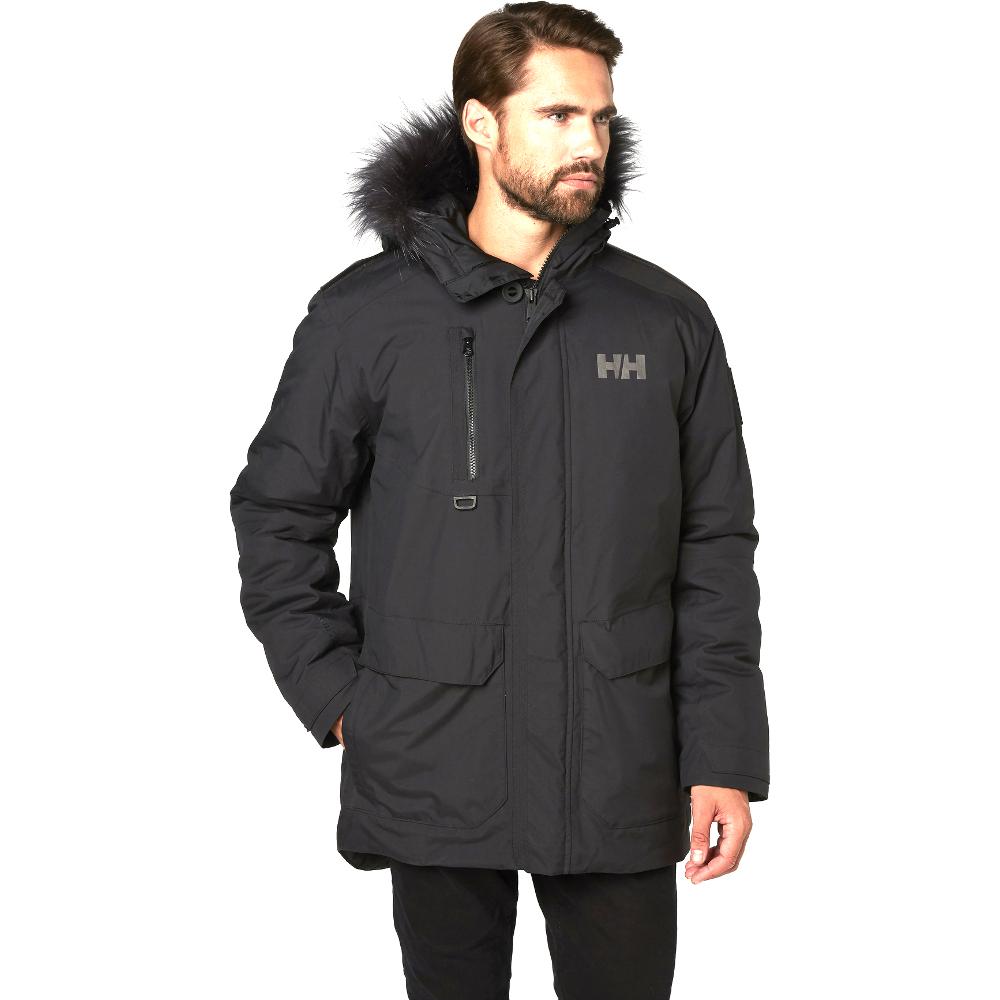 08b44d2d Helly Hansen Mens Svalbard Waterproof Breathable Parka Jacket Coat ...
