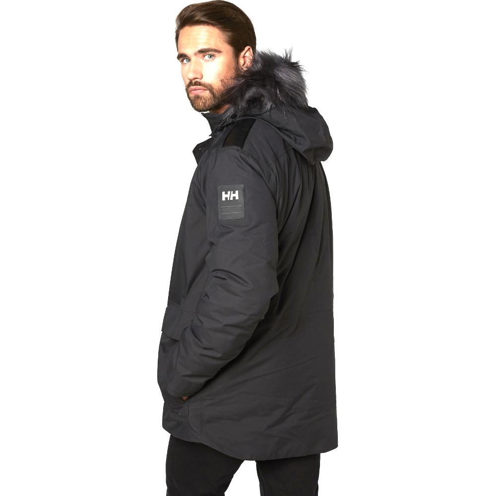 Helly Hansen Mens Svalbard Waterproof Breathable Parka Jacket Coat ...