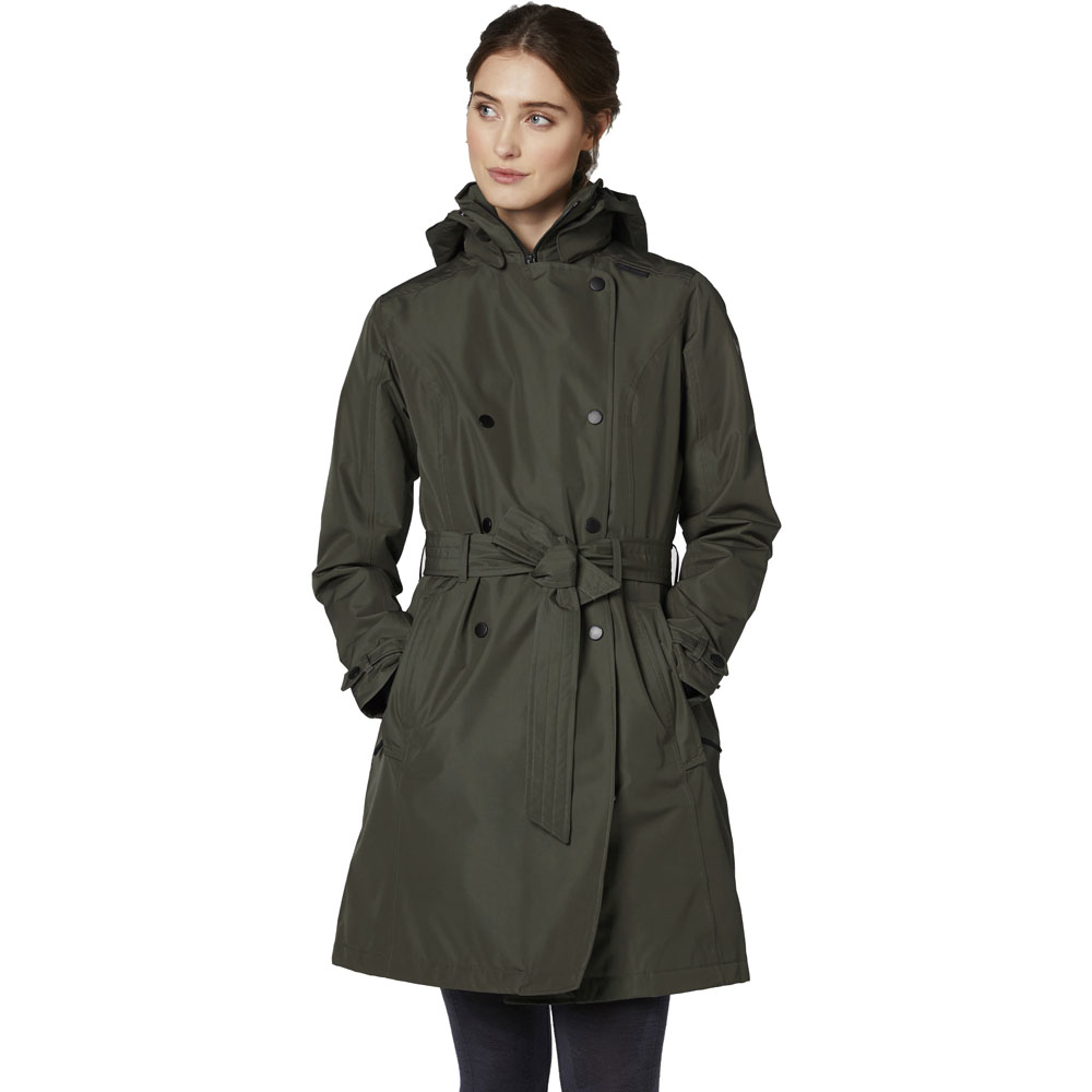 Helly Hansen Womens Welsey Trench Insulated Shell Jacket