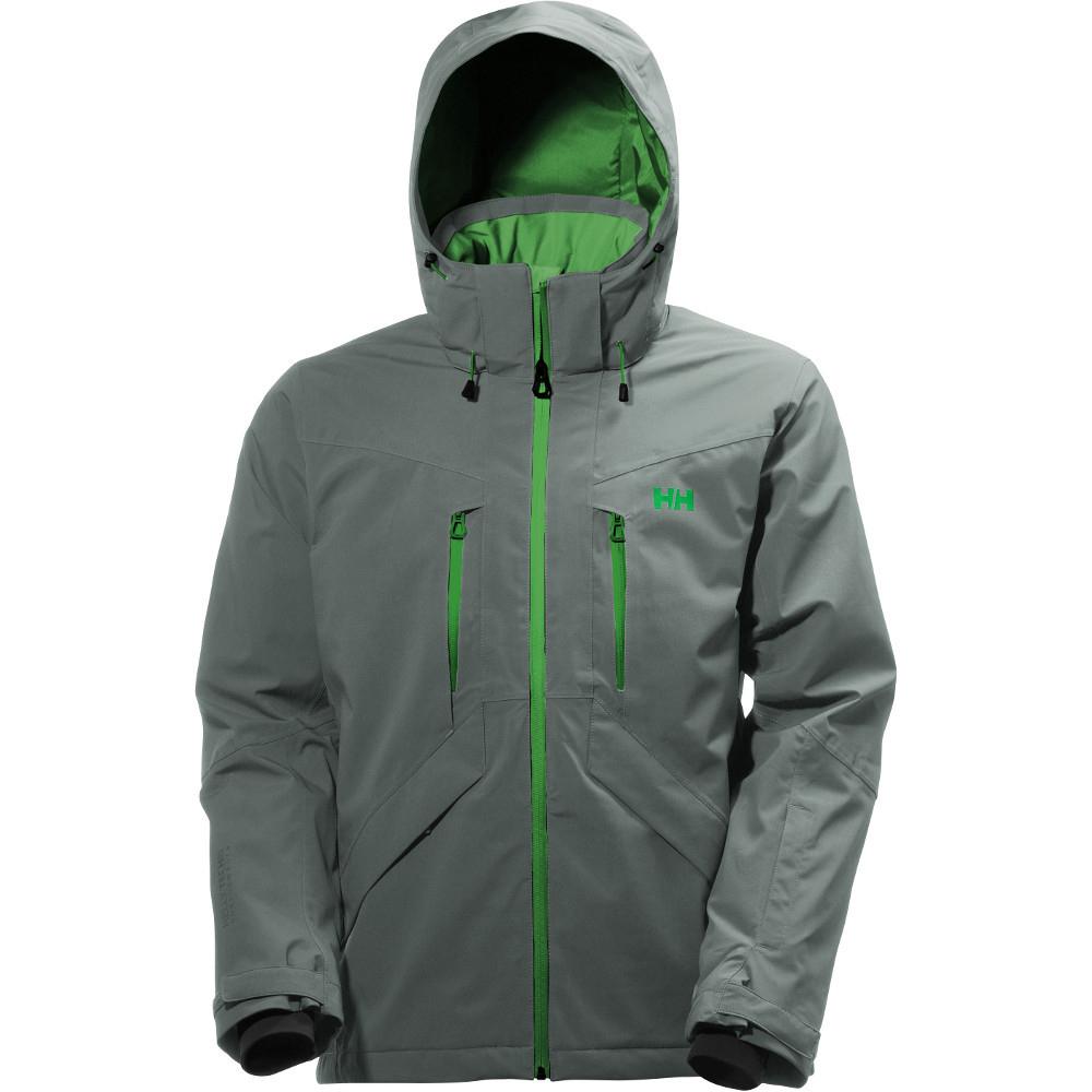 helly hansen mens juniper ii waterproof breathable ski jacket ebay. Black Bedroom Furniture Sets. Home Design Ideas
