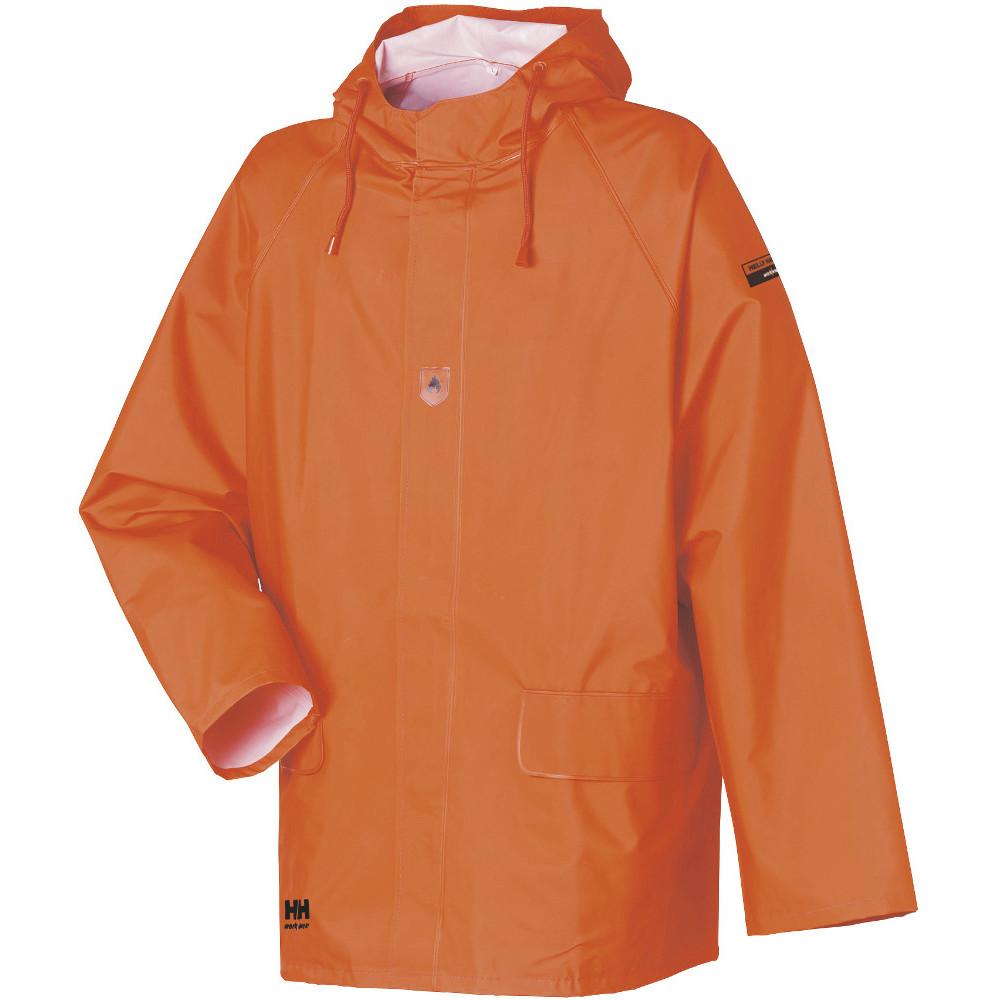3483418a058 Helly Hansen Mens Horten Waterproof Flame Resistant Workwear Jacket ...