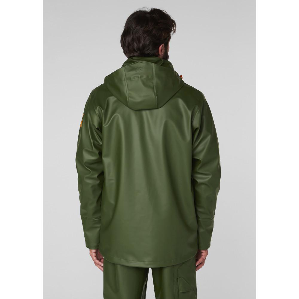 Helly-Hansen-Mens-Gale-Waterproof-Rain-Workwear-Jacket thumbnail 7