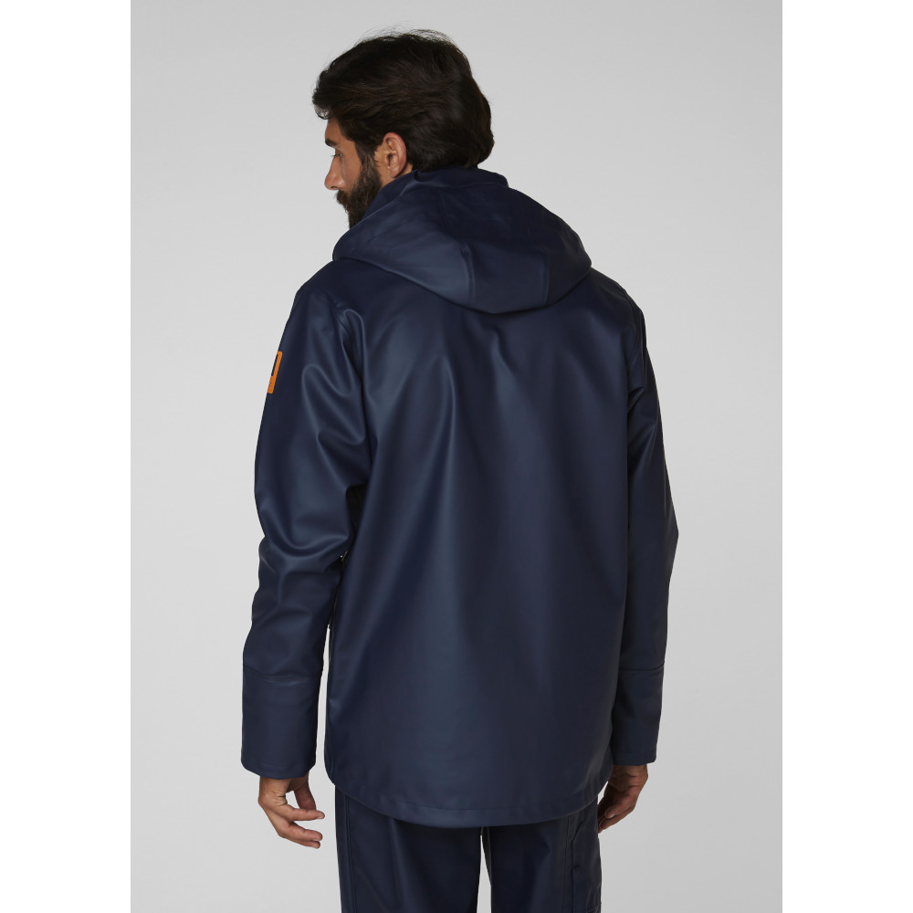 Helly-Hansen-Mens-Gale-Waterproof-Rain-Workwear-Jacket thumbnail 12