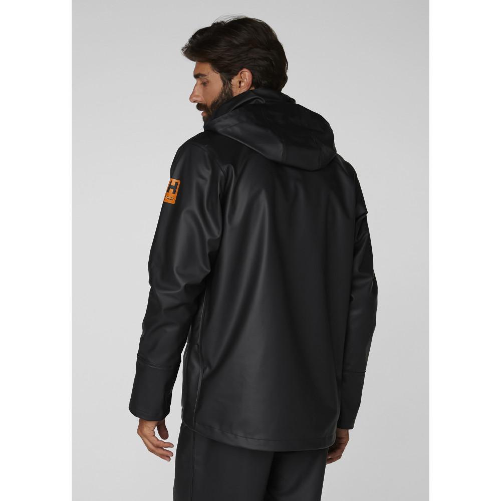 Helly-Hansen-Mens-Gale-Waterproof-Rain-Workwear-Jacket thumbnail 9