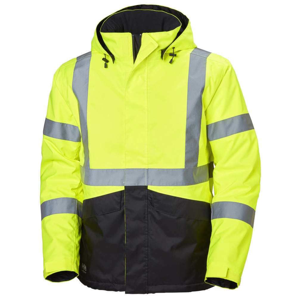 mens alta hi vis winter workwear jacket