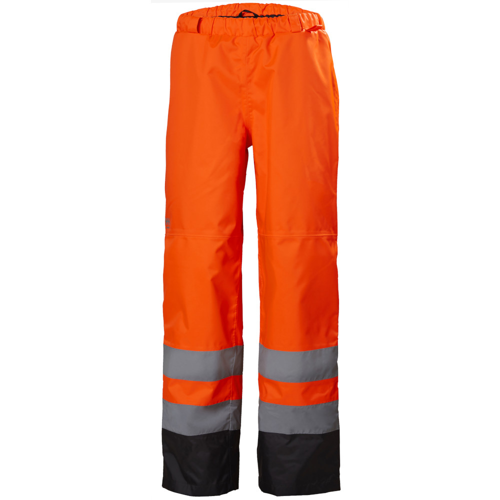 Gray 36 X 35 Unifirst Brand Hi-Visibility Soft Twill Safety Work Pants