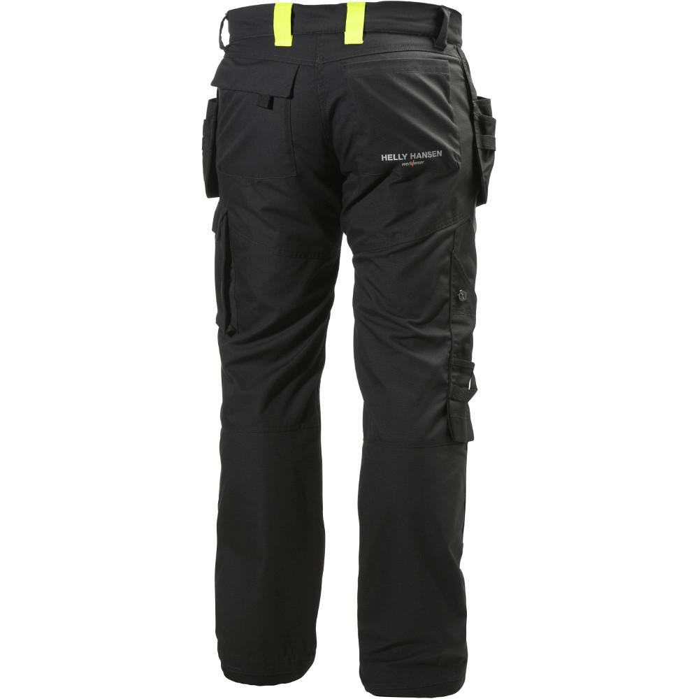 Helly-Hansen-Mens-Aker-Construction-Pant-Cordura-Workwear-Trousers miniatura 7
