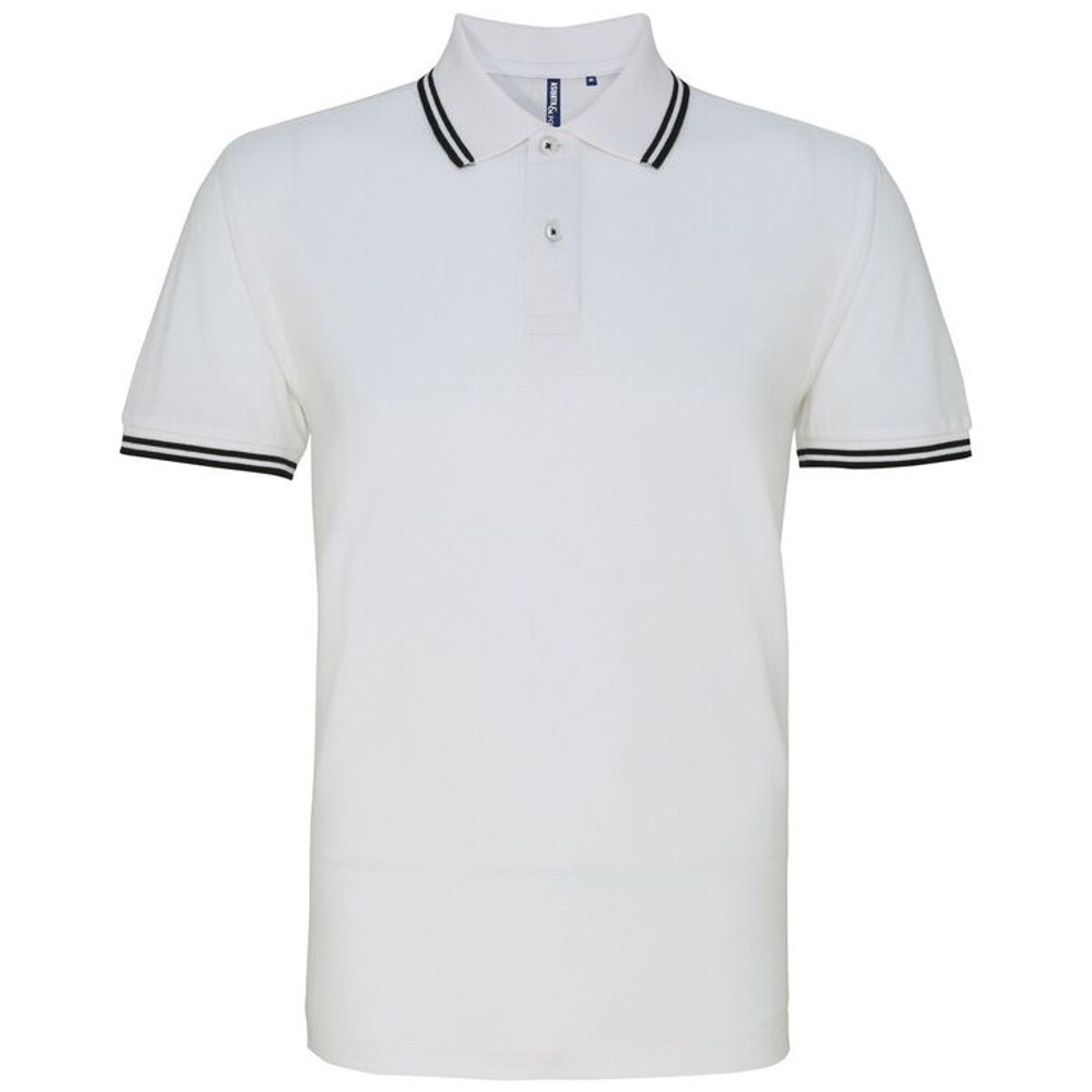 Asquith-amp-Fox-Mens-Classic-Fit-Tipped-Polo-Shirt