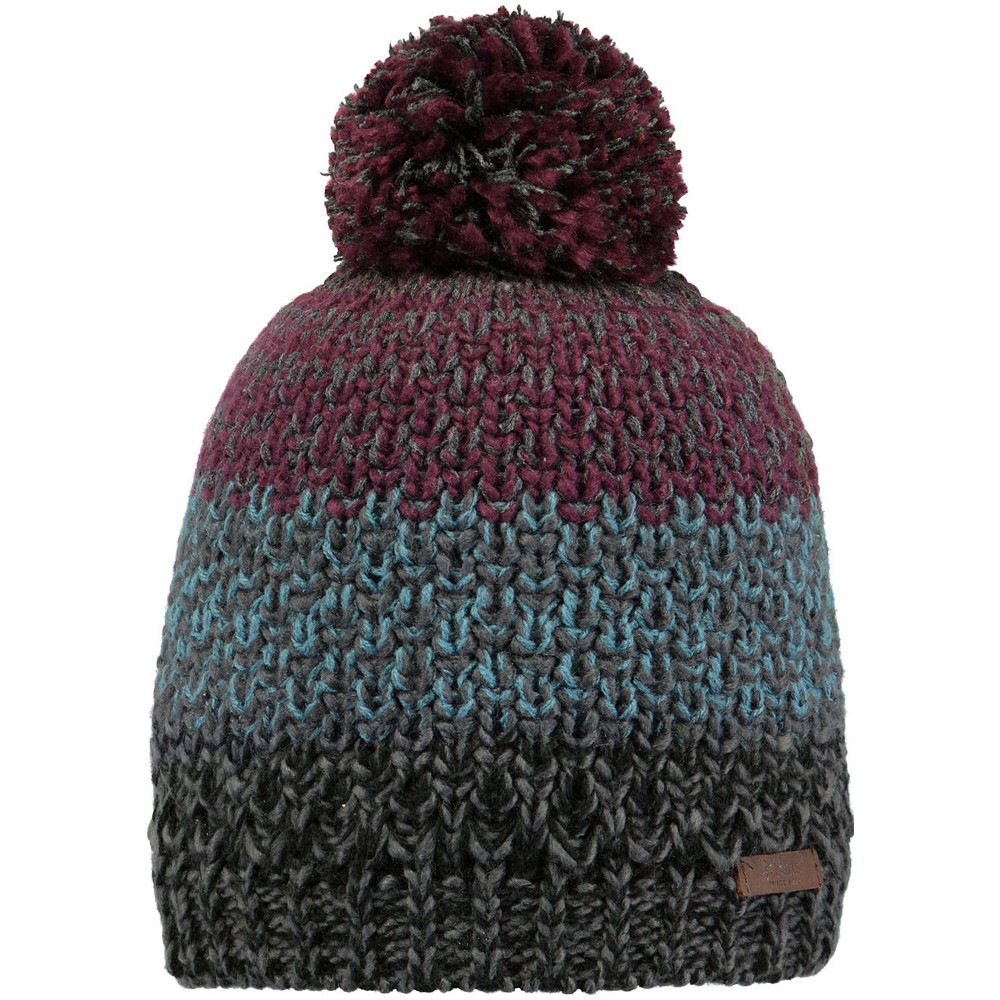 d9c64e26b Details about Barts Mens Lester Warm Cozy Knitted Acrylic PomPom Bobble  Beanie Hat