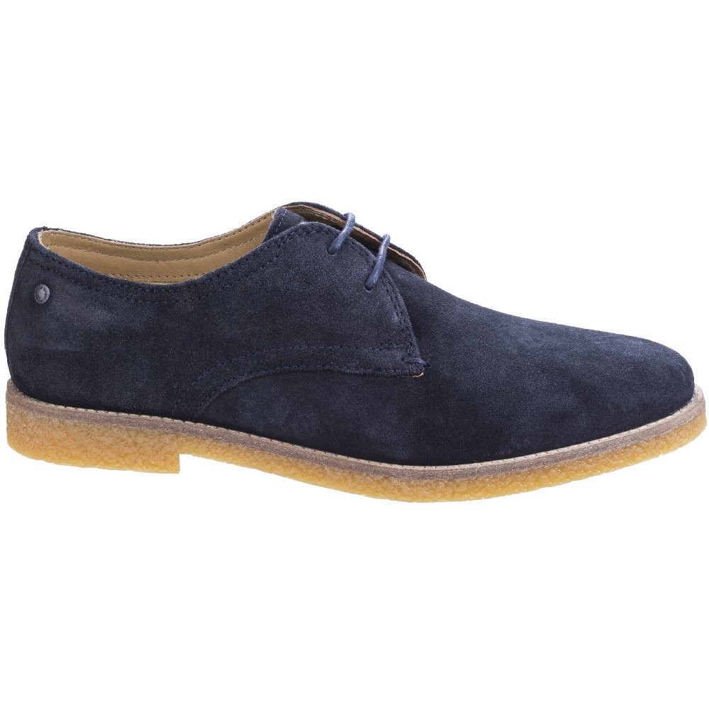 Base London Mens Whitlock Suede Leather Casual Derby Shoes  Blanco (Whiterose Gold) SmzFzoJP