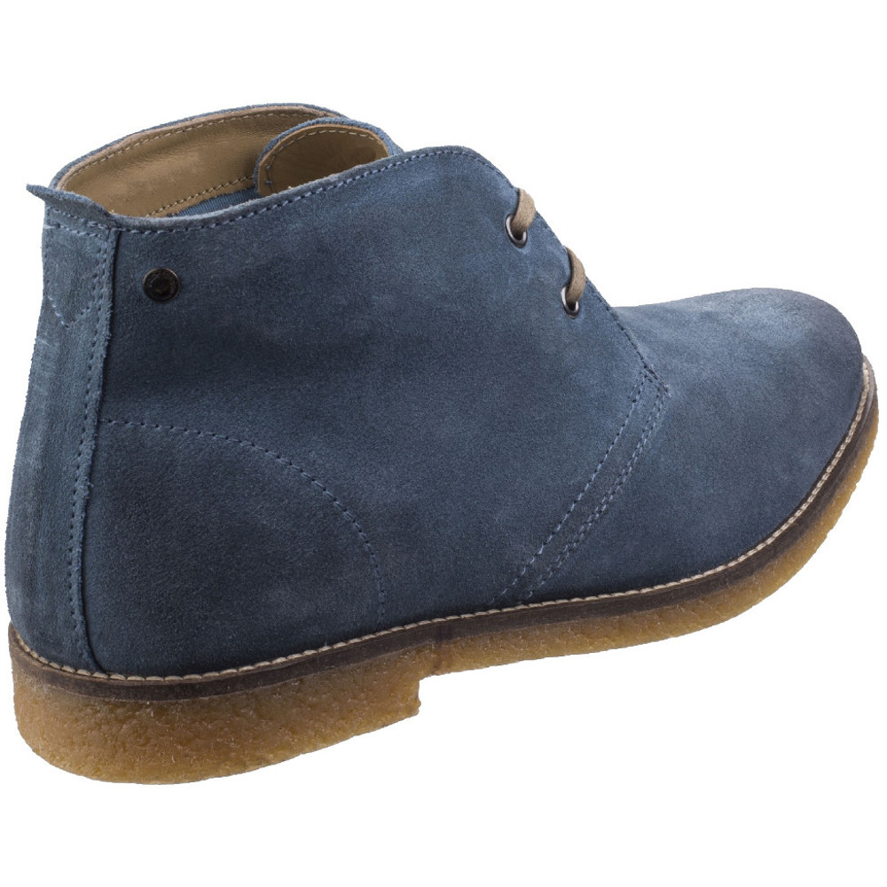Base-London-Mens-Perry-Smart-Burnished-Suede-Leather-Desert-Boots thumbnail 7