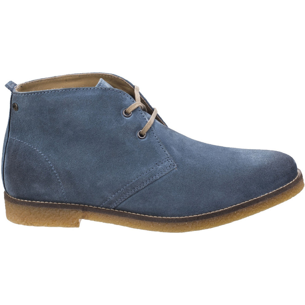 Base-London-Mens-Perry-Smart-Burnished-Suede-Leather-Desert-Boots thumbnail 8