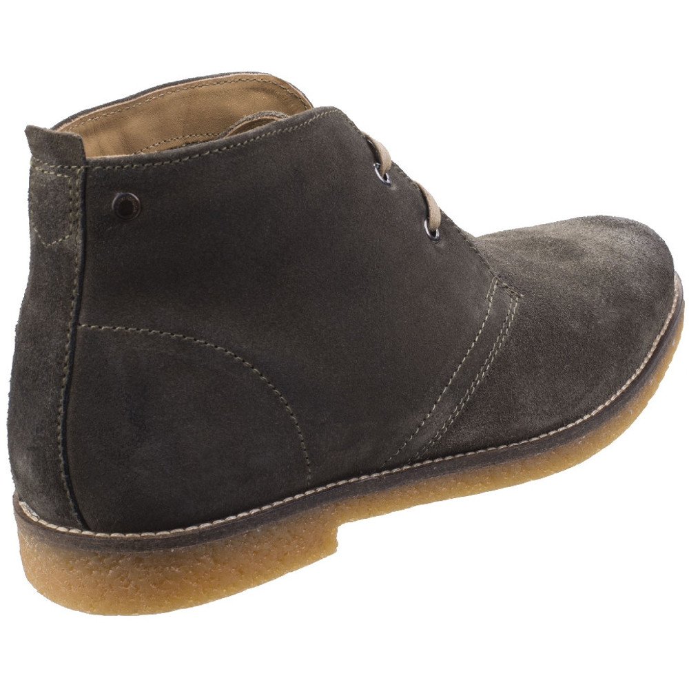 Base-London-Mens-Perry-Smart-Burnished-Suede-Leather-Desert-Boots thumbnail 11