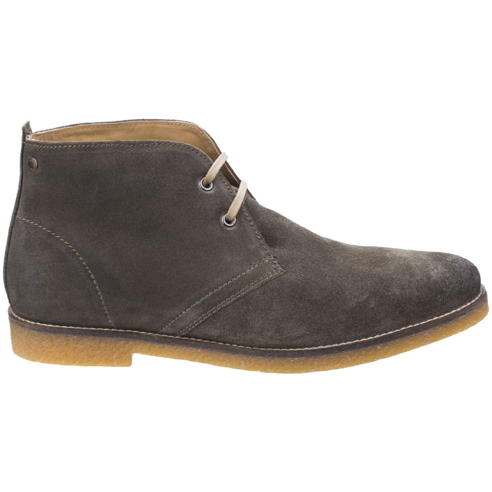 Base-London-Mens-Perry-Smart-Burnished-Suede-Leather-Desert-Boots thumbnail 12