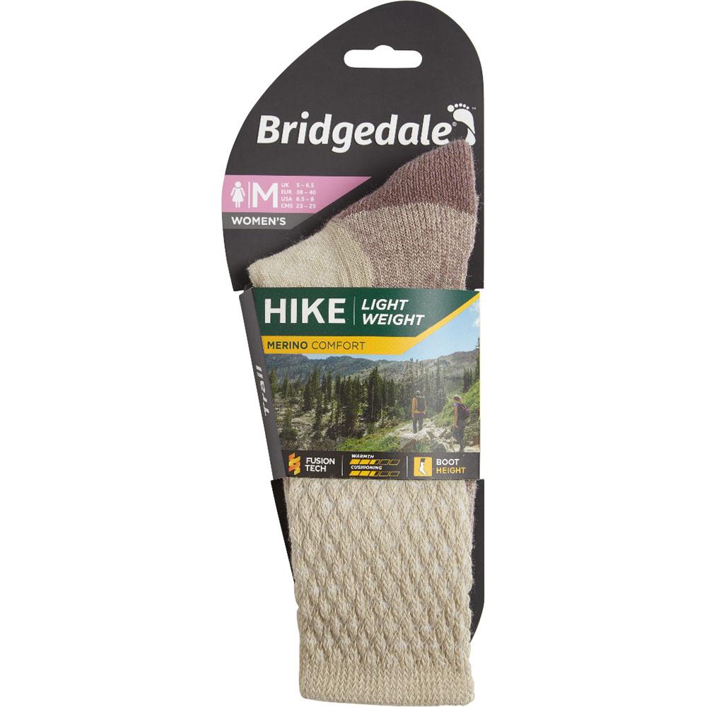 Bridgedale Womens Hike Lightweight Merino Wool Walking Socks