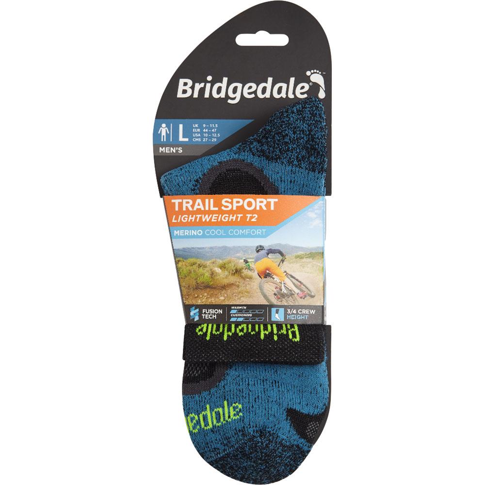Bridgedale Homme Trail Sport Light Merino Cool Walking Chaussettes