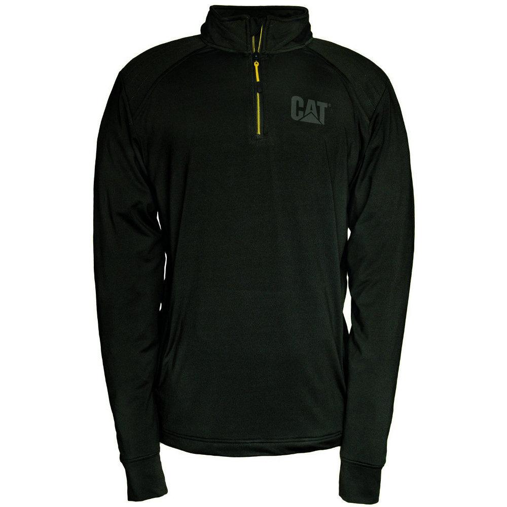 Caterpillar Sweatshirt 1910040 Contour 2xl 14 S Size Zip Cat Black HTwqUaH