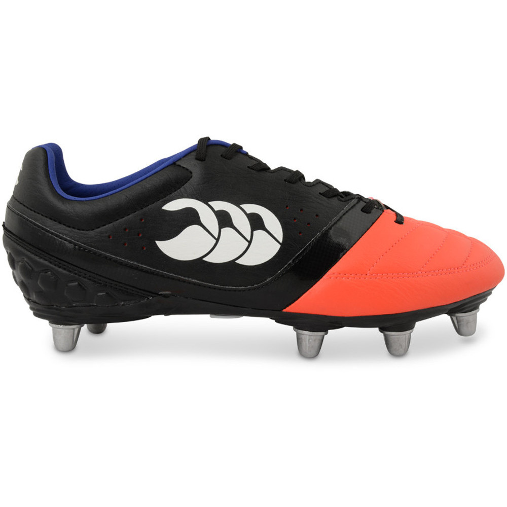 Canterbury boots for rugby players Canterbury have an established reputation for producing rugby boots made for the specific needs of rugby players. Outsoles are tailored for tight forwards, loose forwards and backs, different player weights and hard or soft ground.