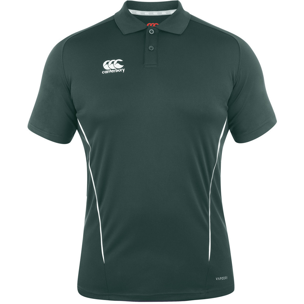 Canterbury mens team dry moisture wicking polo shirt ebay for Men s polyester polo shirts