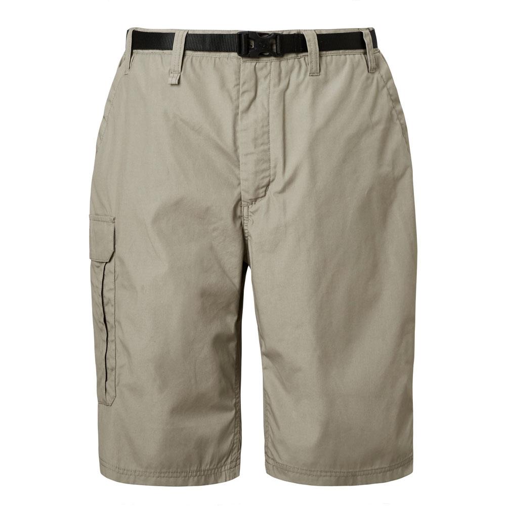 Craghoppers-Mens-Kiwi-Polycotton-Long-Summer-Walking-Shorts miniatuur 9