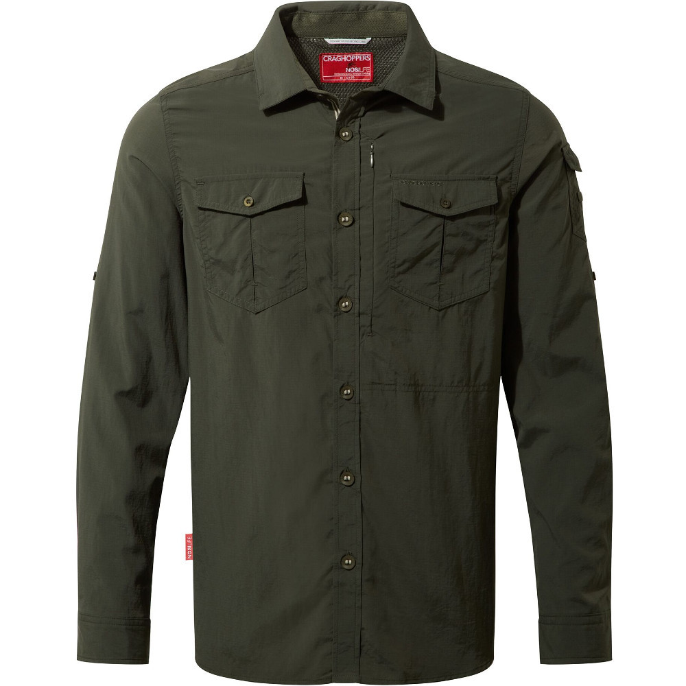 Craghoppers Mens Nosi Life Adventure Long Sleeve Shirt
