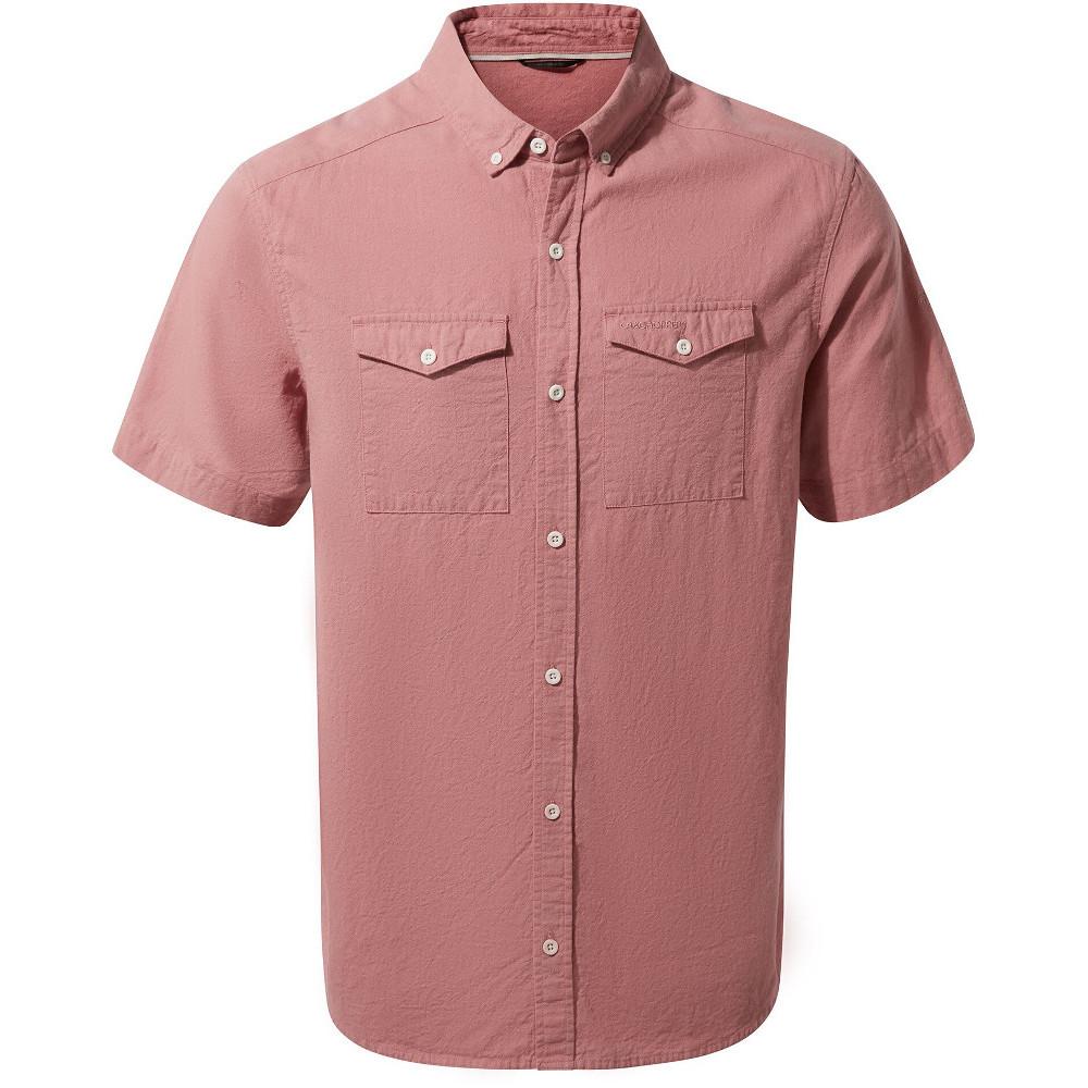 Craghoppers Mens Kiwi Short Sleeved Shirt