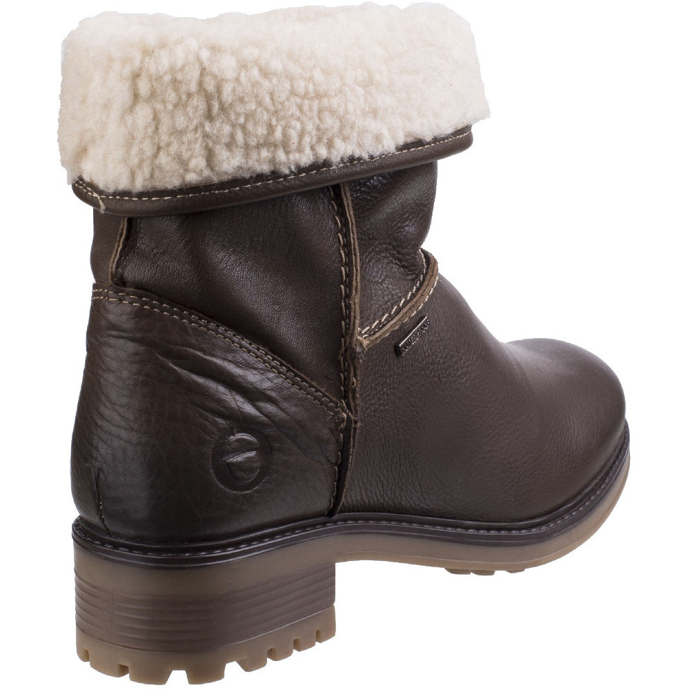 Cotswold Womens//Ladies Bampton Waterproof Heeled Adjusting Ankle Boots