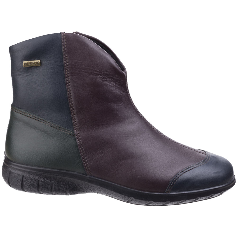 Cotswold Womens Ladies Glympton Slip On Waterproof Leather Leather Leather Ankle Boots 8a27e6