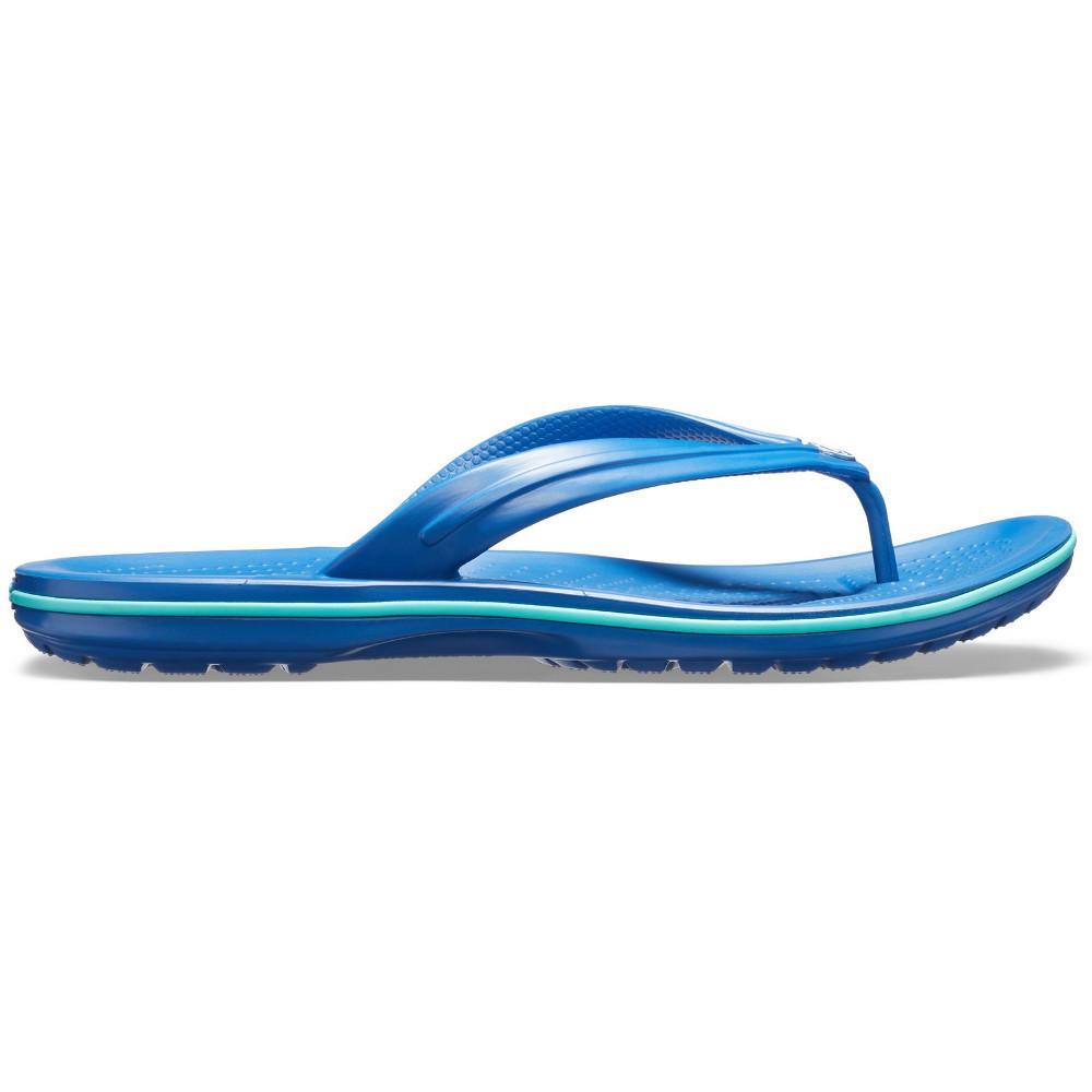 Crocs-Mens-Crocband-Flip-Croslite-Flip-Flop-Sandal-White thumbnail 4