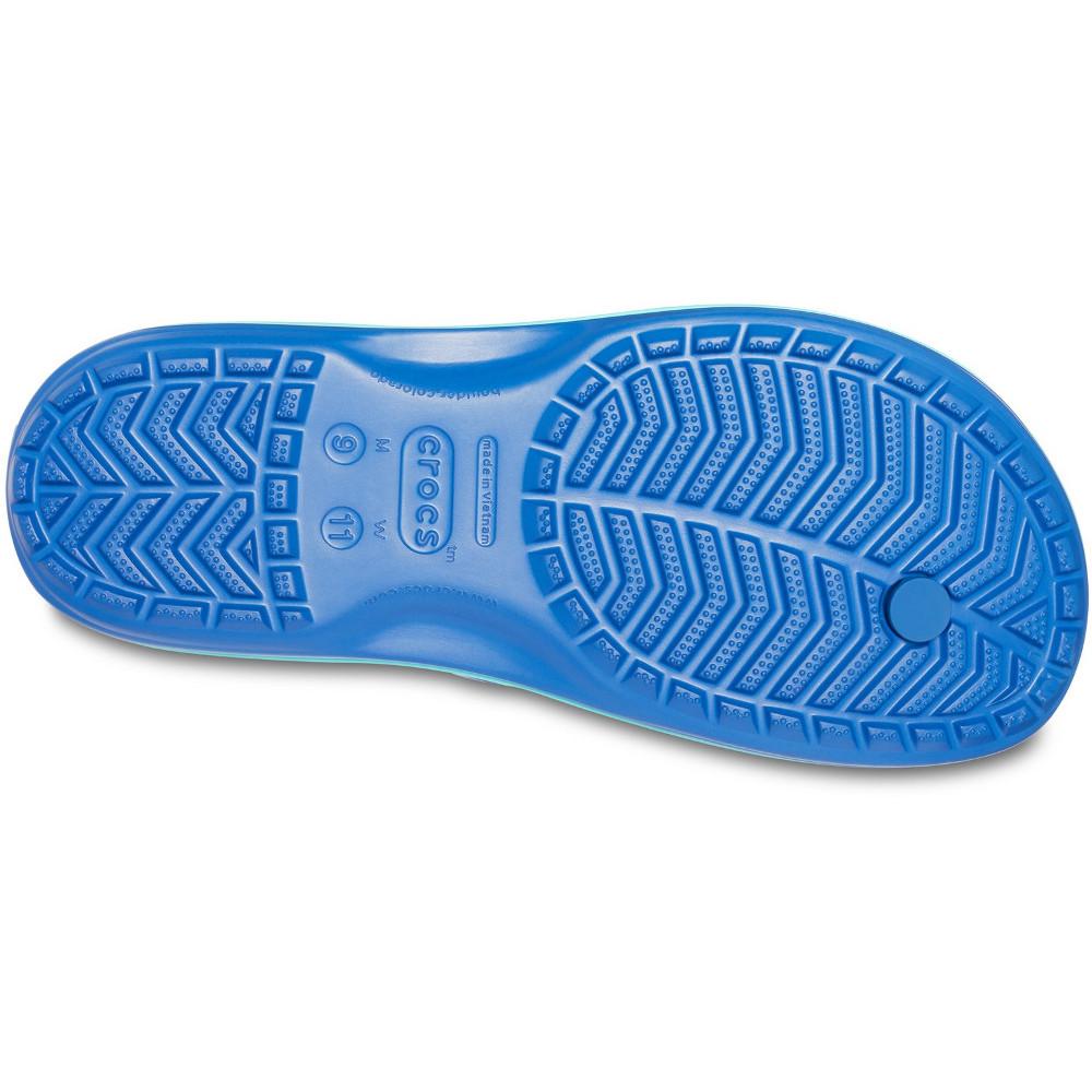 Crocs-Mens-Crocband-Flip-Croslite-Flip-Flop-Sandal-White thumbnail 6