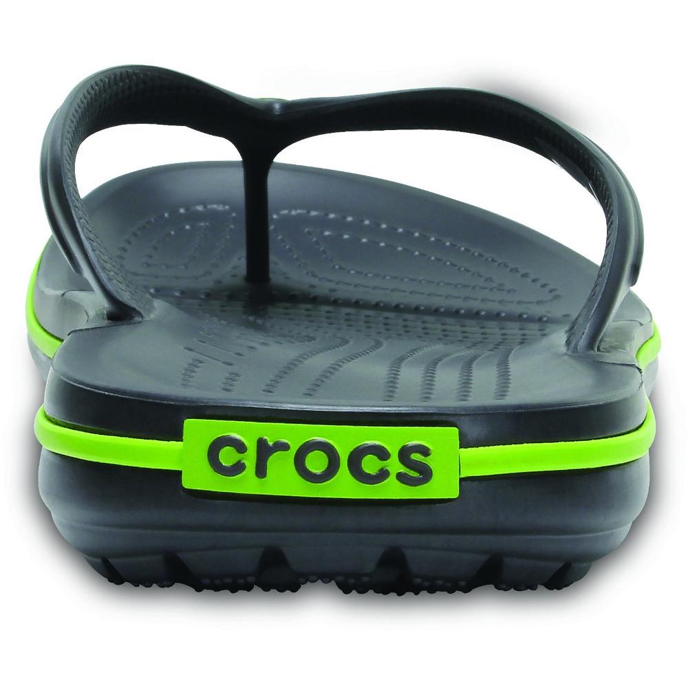 Crocs-Mens-Crocband-Flip-Croslite-Flip-Flop-Sandal-White thumbnail 9
