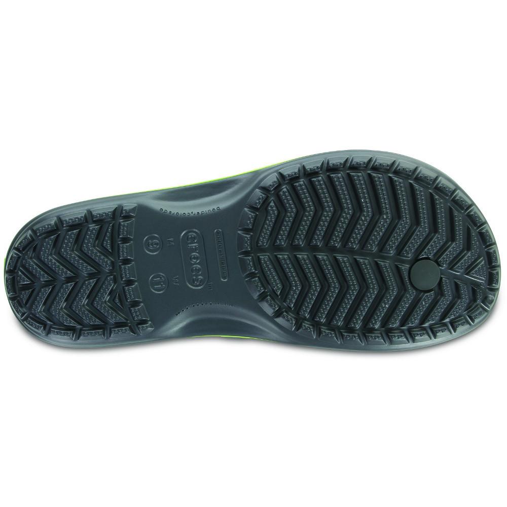 Crocs-Mens-Crocband-Flip-Croslite-Flip-Flop-Sandal-White thumbnail 10