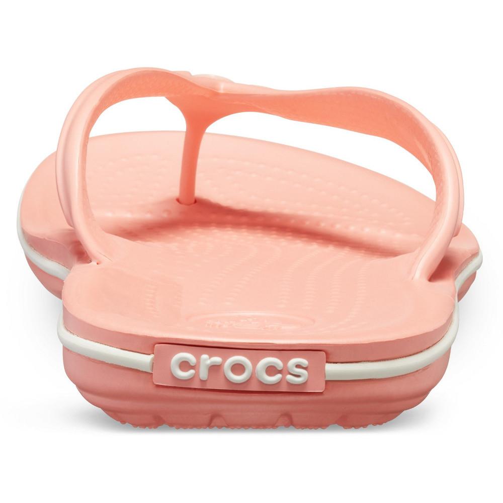 Crocs-Mens-Crocband-Flip-Croslite-Flip-Flop-Sandal-White thumbnail 17