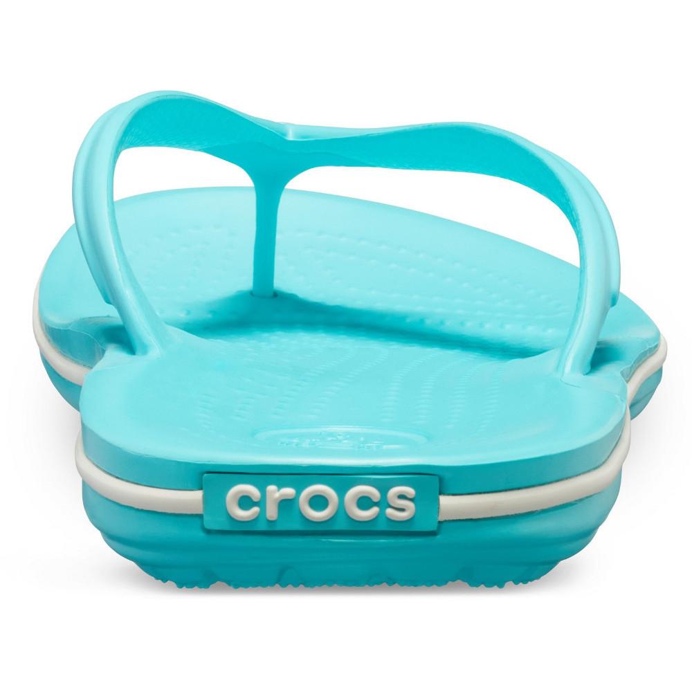 Crocs-Mens-Crocband-Flip-Croslite-Flip-Flop-Sandal-White thumbnail 21