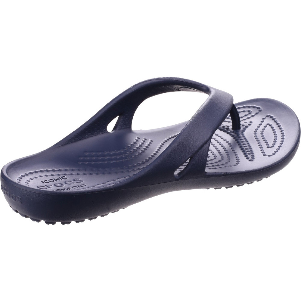 Crocs Womens//Ladies Kadee II Lightweight Molded Foam Flip Flop Sandals