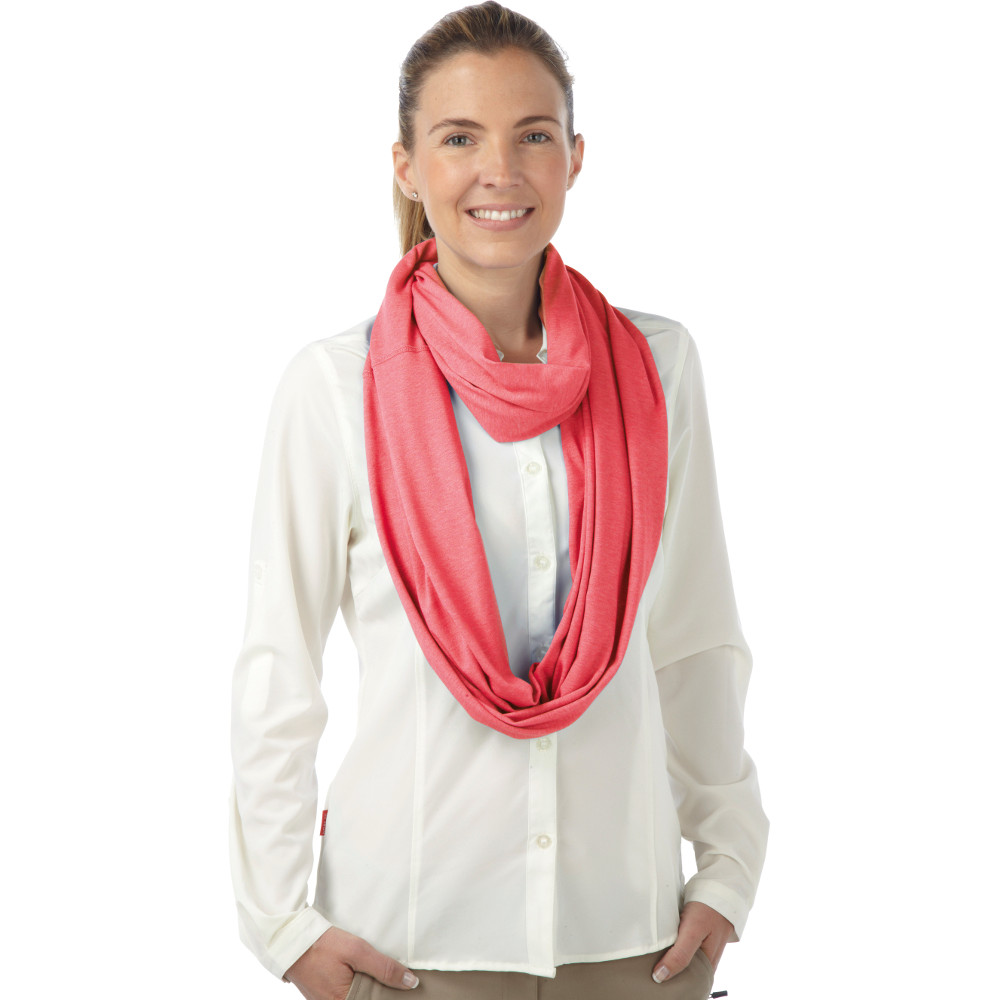 craghoppers womens nosilife travel infinity scarf