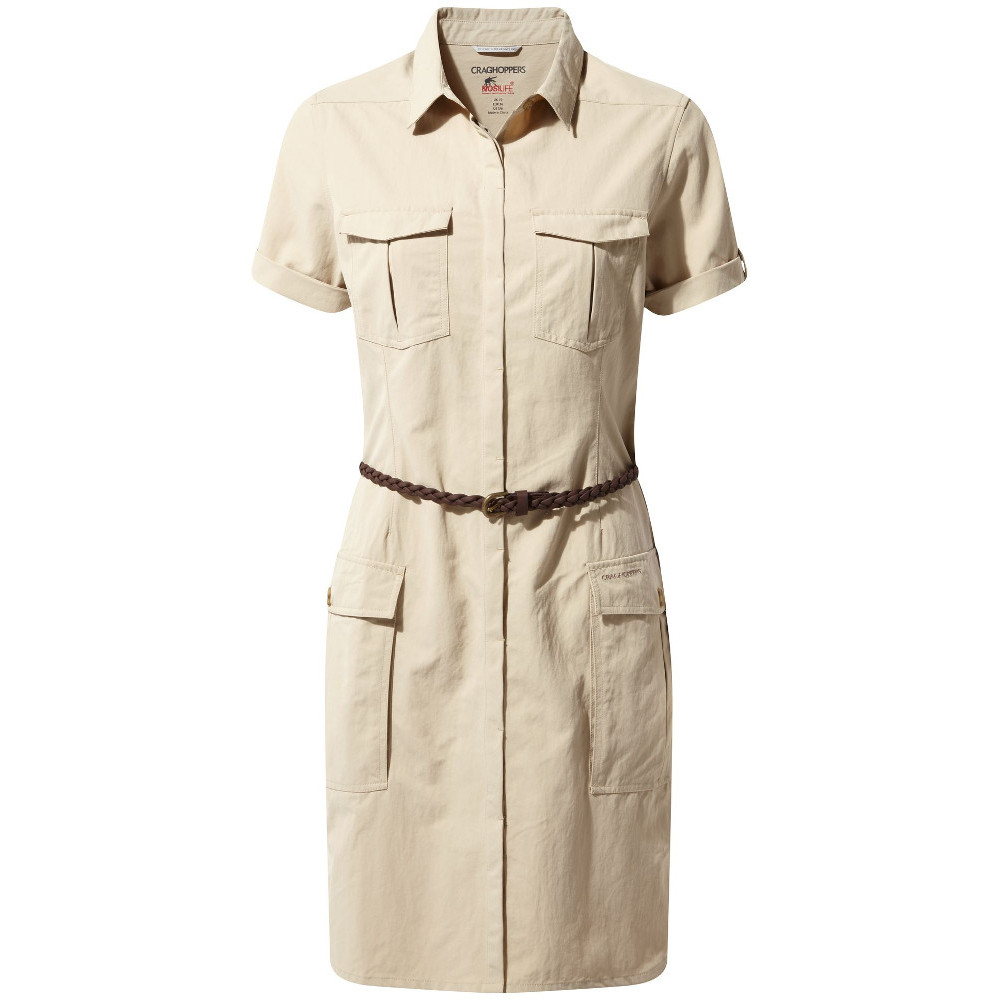Craghoppers Craghoppers Craghoppers Womens Nosi Life Savannah Buttoned Summer Dress 82fde8