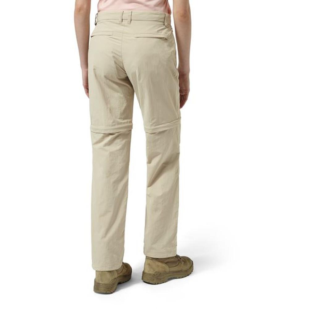 CRAGHOPPERS pour Femme//Femmes NosiLife convertible zip off voyage Pantalon